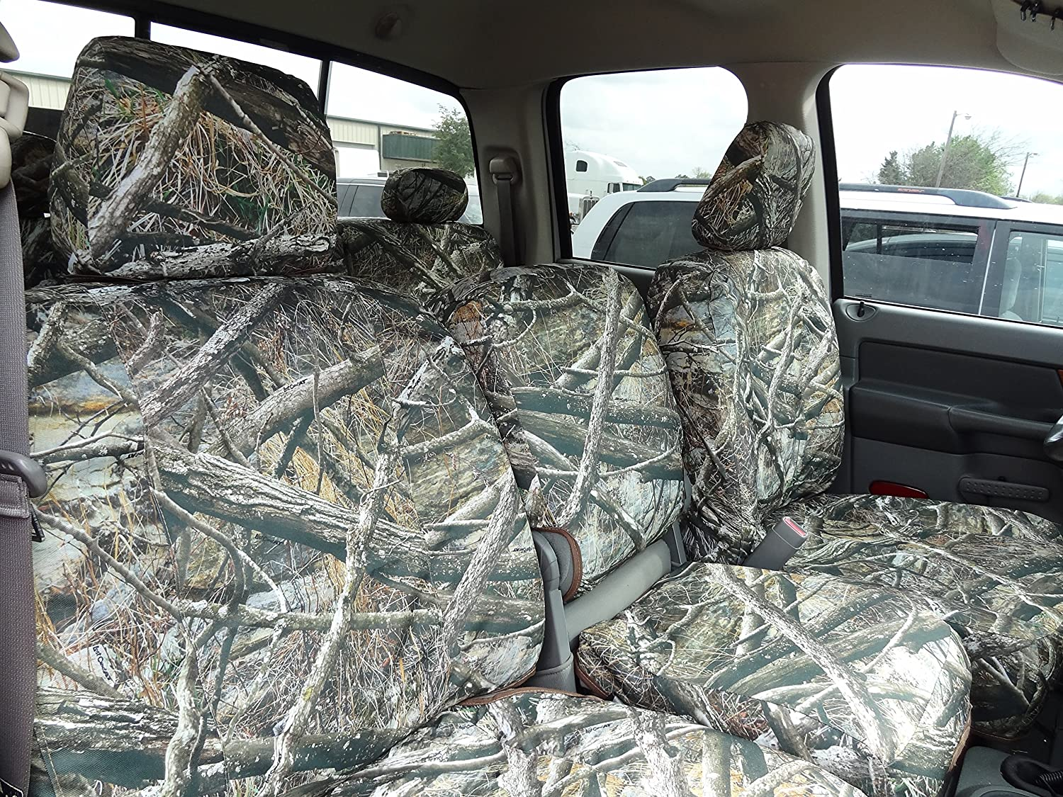 Durafit Seat Covers DG30 2006-2009 Dodge Ram 2500 or 3500 Exact fit Seat Covers in Lost Camo Endura D1322/D1290 Loat At V