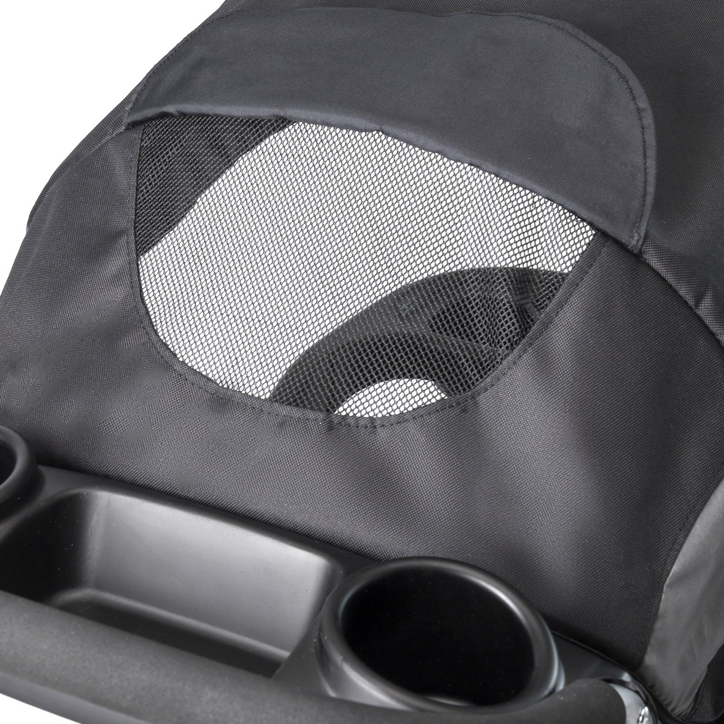 Evenflo Advanced SensorSafe Epic Travel System with LiteMax Infant Car Seat, Jet by Evenflo (Image #9)