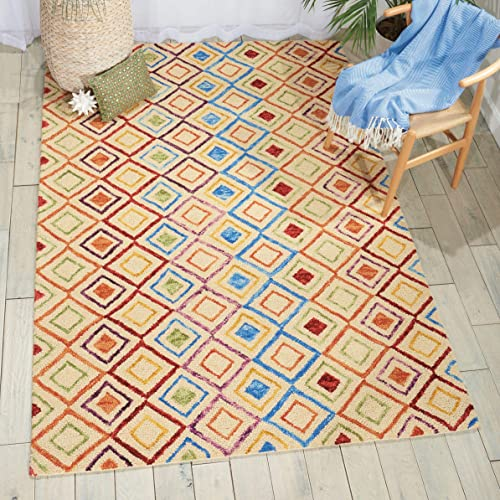 Nourison Vivid Ivory Area Rug 8 10 Feet 6 Inches