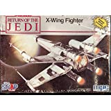 Star Wars Return of the Jedi X-Wing Fighter Scale Model Kit by MPC Ertl