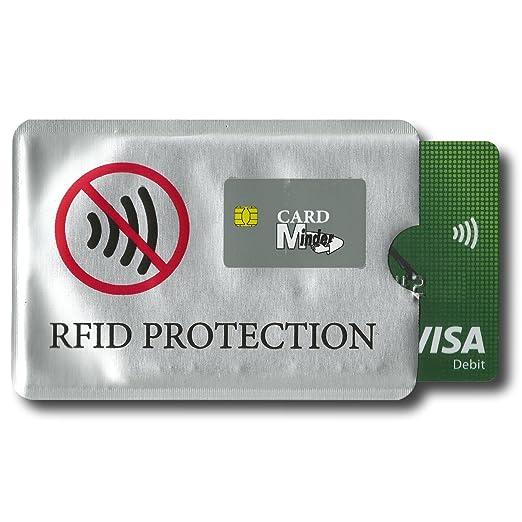 Epos Gear Card Minder Radio tarjeta de chip RFID Blocker ...