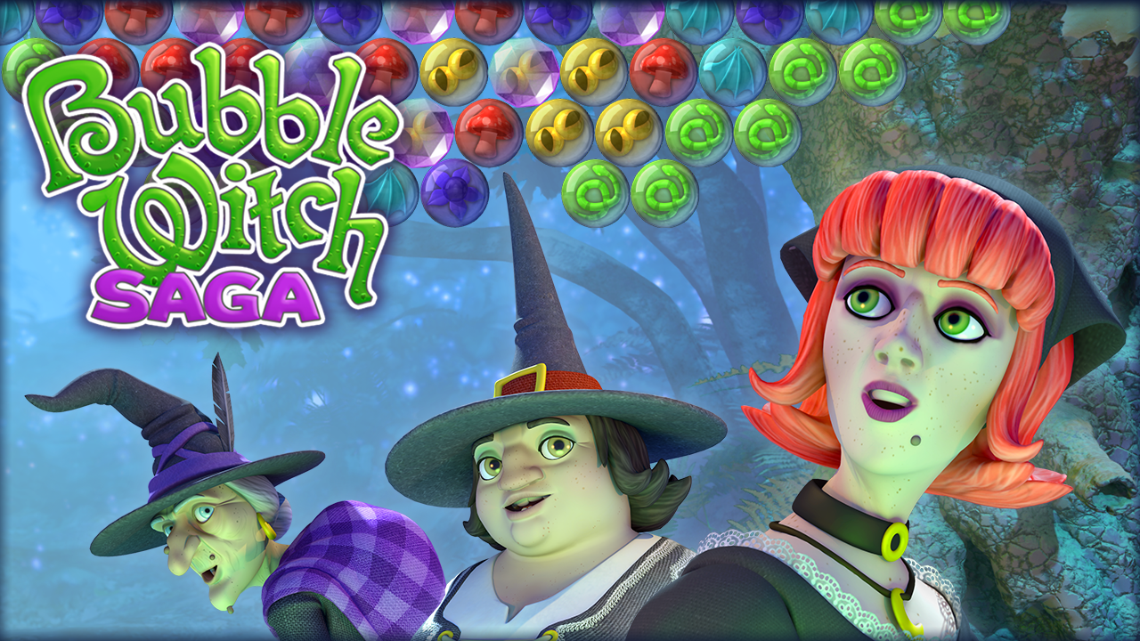 android games bubble witch saga