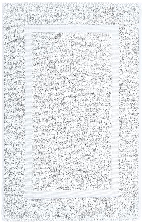 Amazon com  Pinzon Luxury 100  Cotton Banded Bath Mat   White  Home    KitchenAmazon com  Pinzon Luxury 100  Cotton Banded Bath Mat   White  . Luxury Bath Mat. Home Design Ideas