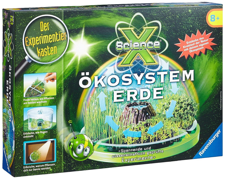 Ravensburger 18889 - Experimentierkasten ScienceX Ökosystem Erde