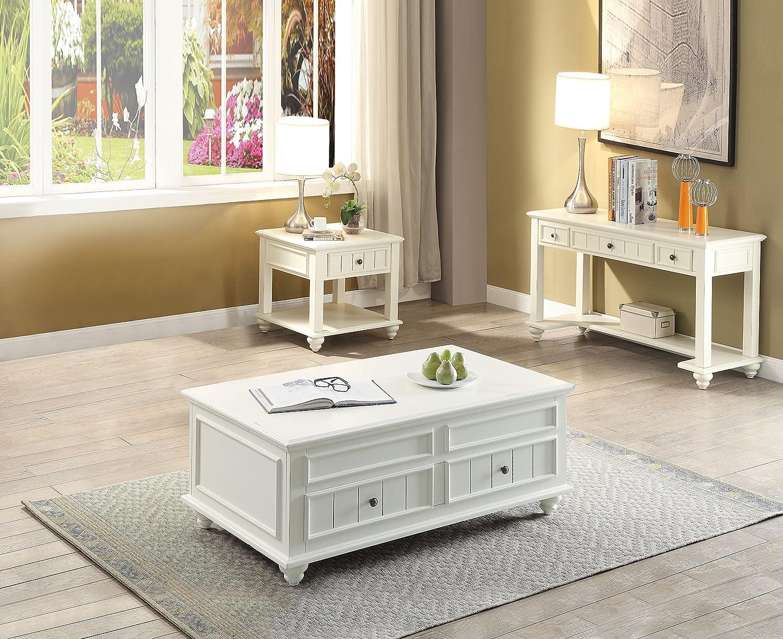 Beau Amazon.com: Acme Furniture 83325 Natesa Coffee Table With Lift Top White  Washed: Kitchen U0026 Dining