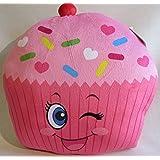 Fun And Soft Novelty Food Throw Pillows (Cupcake)