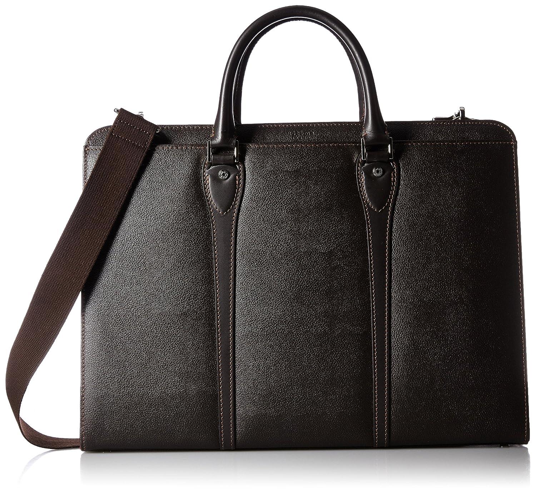 [ウルティマトーキョー] ultima tokyo(ウルティマトウキョウ) ビジネスバッグ レオーネ 41cm ショルダーベルト付 B01CSDQPNW ブラウン ブラウン
