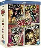 Reel Heroes: Hellboy 2/Wanted/Scott Pilgrim/Kick Ass [Blu-ray] [Region Free]