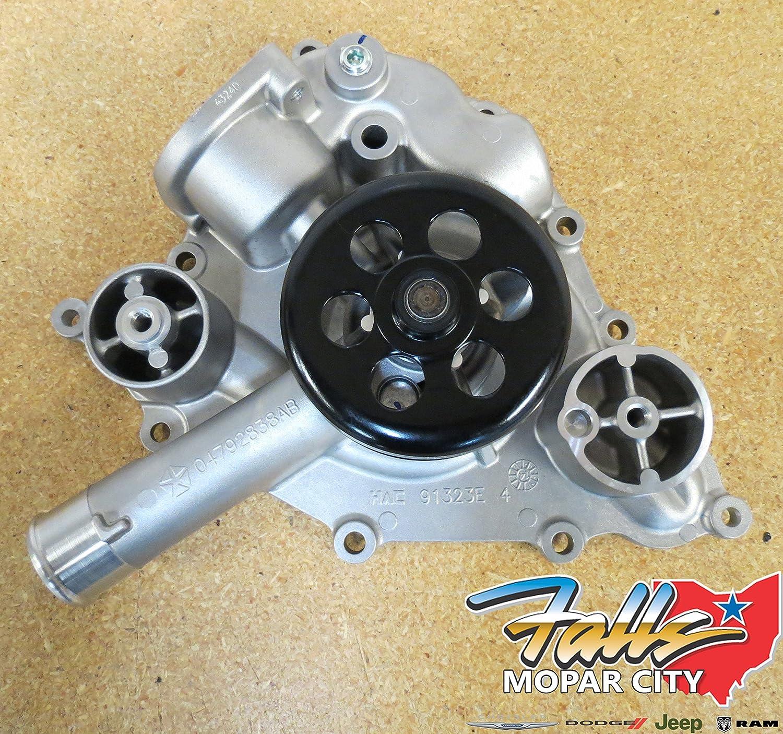 Mopar 4792838ab Water Pump Automotive 2012 Dodge Ram Oil
