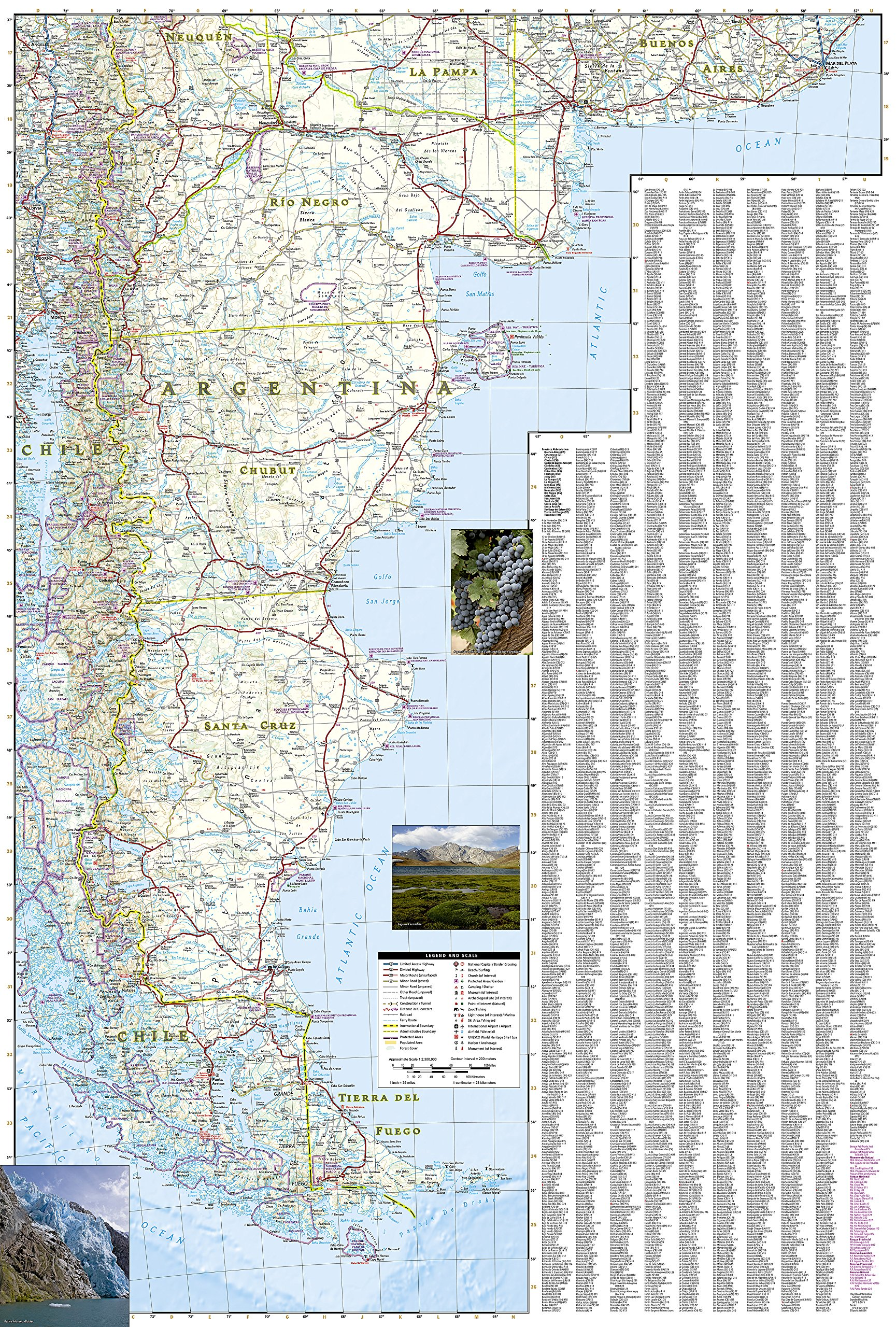 Argentina national geographic adventure map national geographic argentina national geographic adventure map national geographic maps adventure 0749717034006 amazon books gumiabroncs Image collections