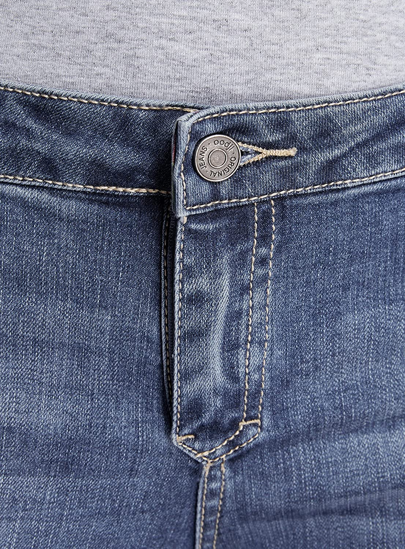 oodji Ultra Donna Jeans Skinny a Vita Media