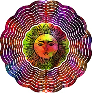 """product image for Next Innovations Rainbow Sun 10"""" Wind Spinner"""