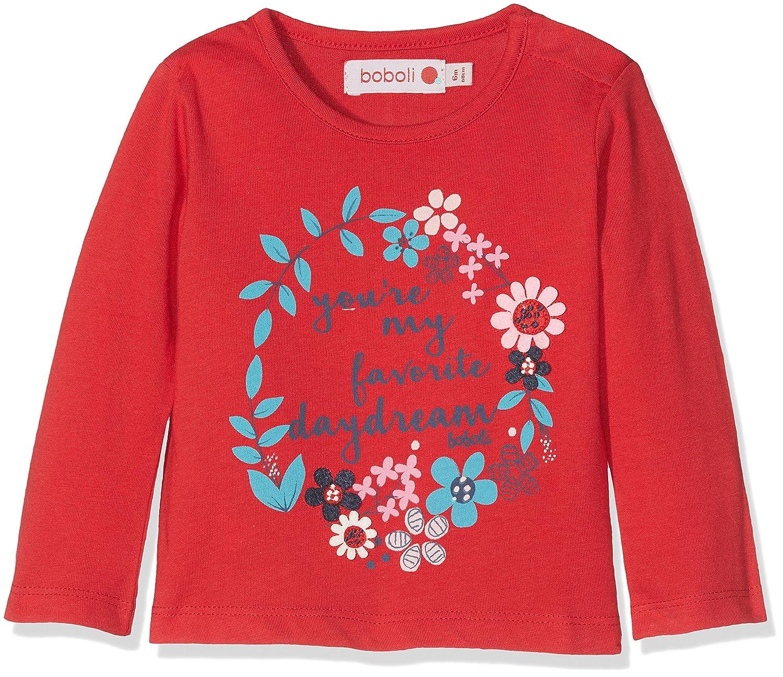 boboli T- Shirt Manches Longues Bébé Fille Bóboli 224064