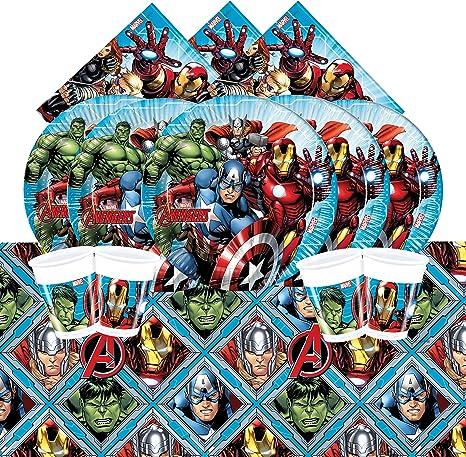 Marvel bpwfa-100 Vengadores mesa juego para 16: Amazon.es ...