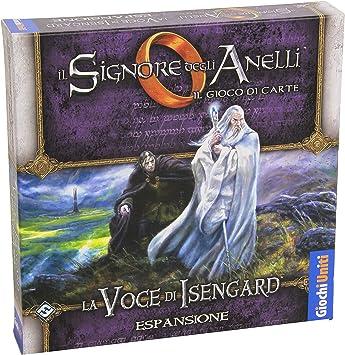 Giochi Uniti Estadounidenses Juegos - El Señor de los Anillos LCG: La Voz de Isengard: Amazon.es: Juguetes y juegos
