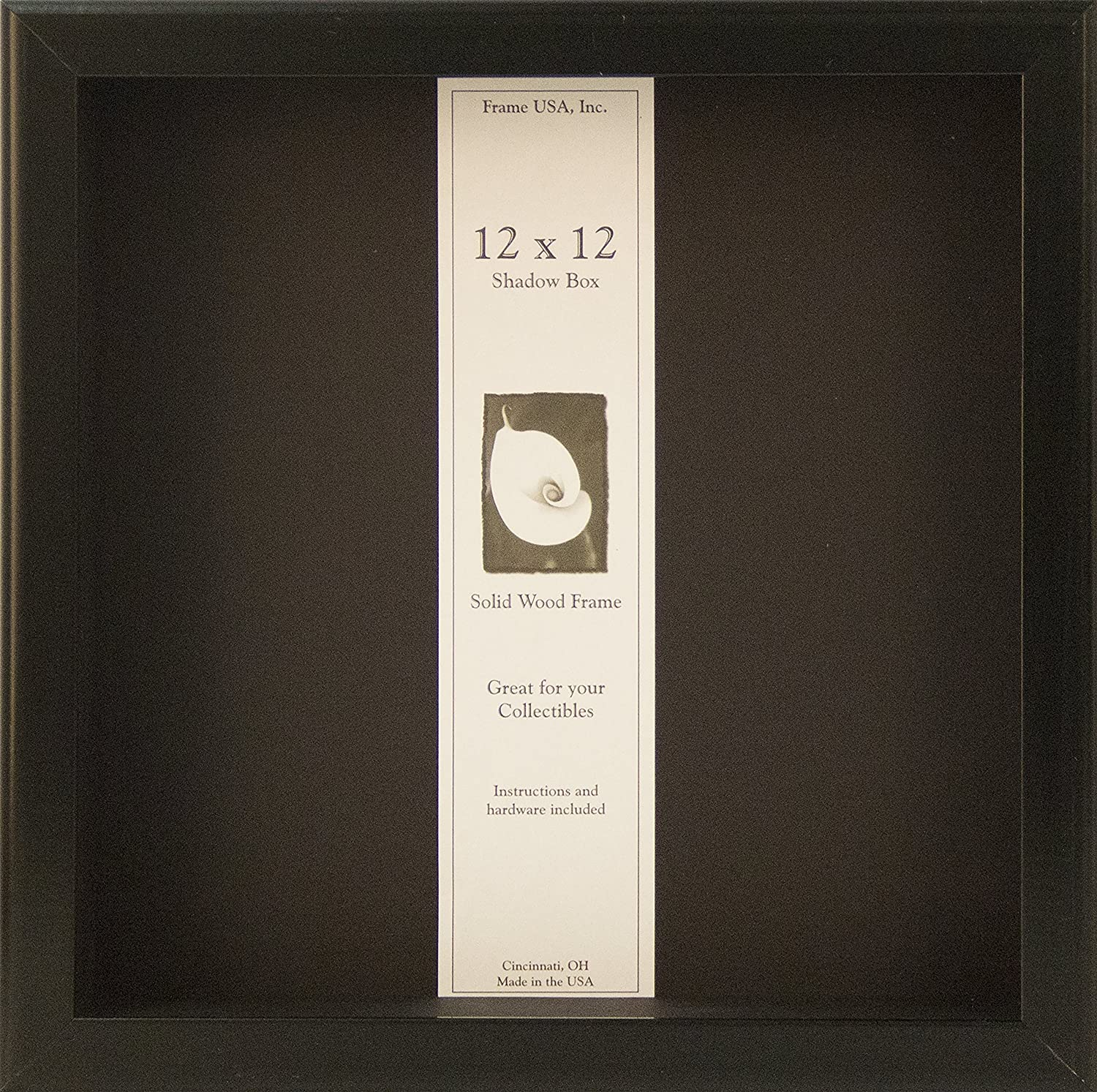 Amazon.com - 12x12 Shadow Box Wood Frame 2 1/8\