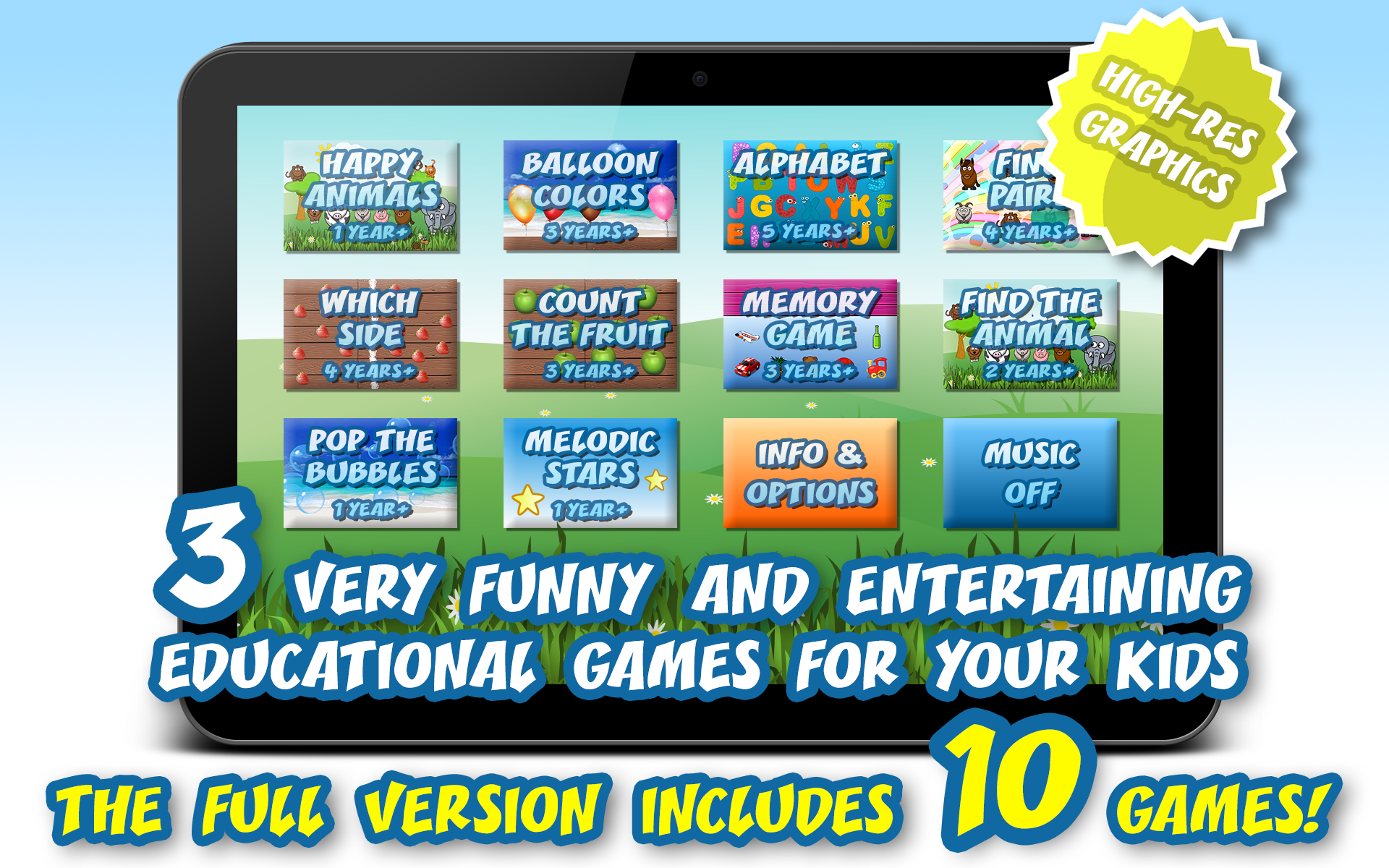 Free Games for Kids & Babies