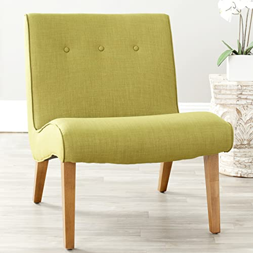 Safavieh Mercer Collection Owen Mid-Century Modern Green Lounge Chair
