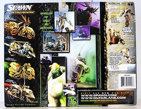 Amazon.com: Spawn: Flashpoint Nitro Riders Variant Gold ...