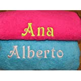 toalla ducha personalizada
