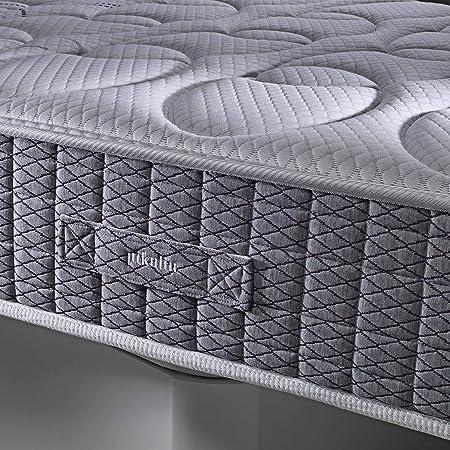 PIKOLIN Colchón viscoelástico 80x190 firmeza Alta, Alta Densidad, Reversible, Gama Alta, Alto 27 cm - Colchones Dardania: Amazon.es: Hogar