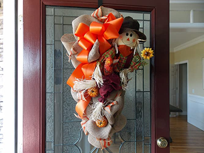 Merveilleux FALL SWAG Fall Wreaths For Front Door Fall Swags For Front Door Fall