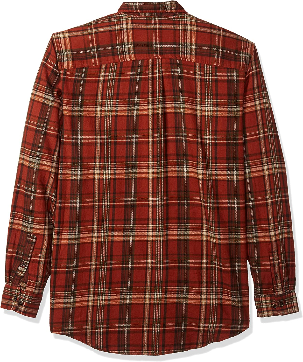 Bass /& Co Mens Big and Tall Fireside Flannels Long Sleeve Button Down Shirt G.H