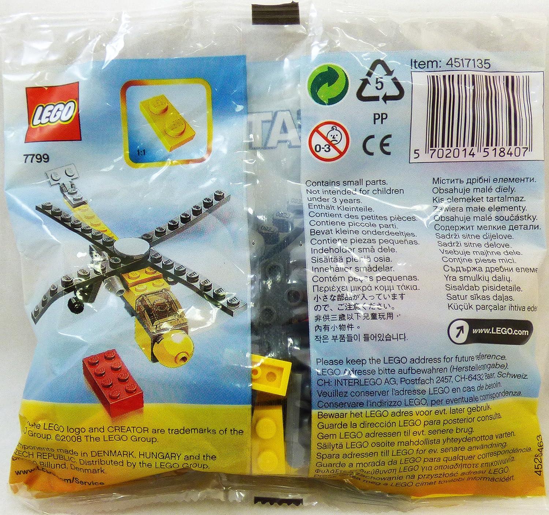 Amazoncom Lego Creator Set 7799 Cargo Helicopter Toys Games