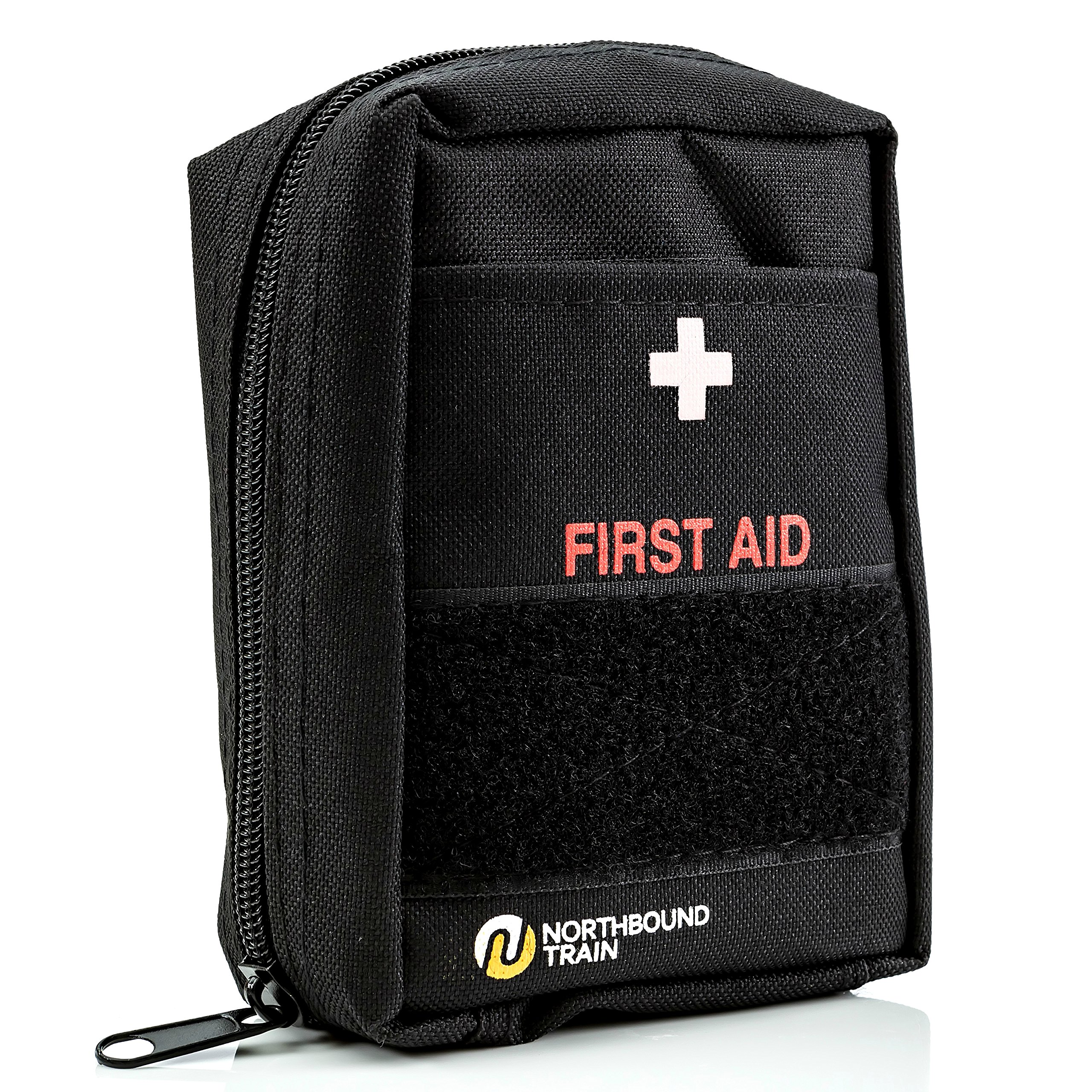 Northbound Train First Aid Kit, Fully Stocked - IFAK - Premium Contents for Tactical First Aid, Camping, Travel, and Hiking