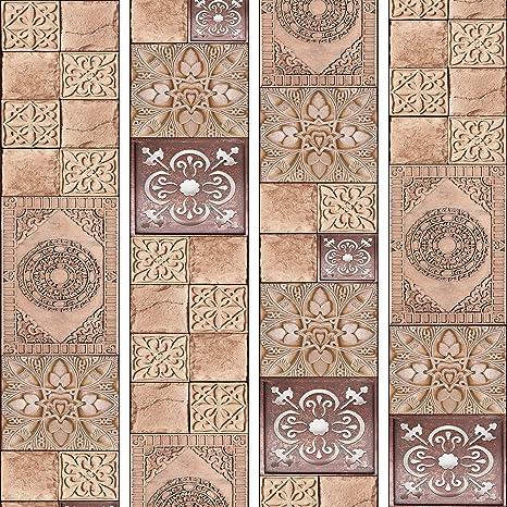 Murando Puro Tapete Realistische Tapete Ohne Rapport Und Versatz 10m Vlies Tapetenrolle Wandtapete Modern Design Fototapete Orient Abstrakt