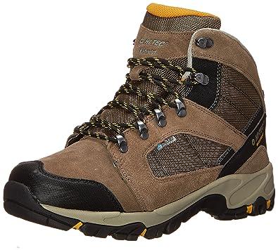 Hi-Tec Men's Borah Peak I Waterproof Hiking Boot, Smokey Brown/Taupe/