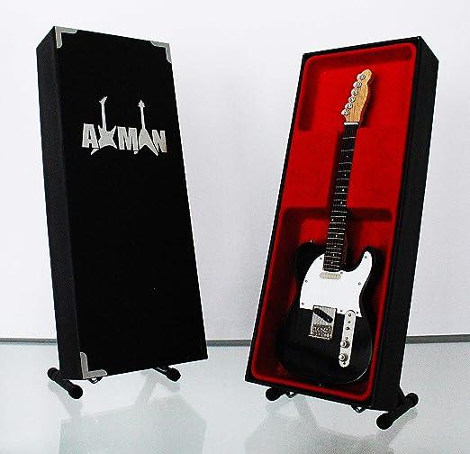 Axman Bob Dylan – Negro Telecaster: réplica de Guitarra en ...