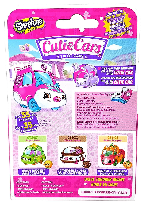 Shopkins ID56723 Cutie Car Series 2 W1 Single Pack-Wheely Sneaky