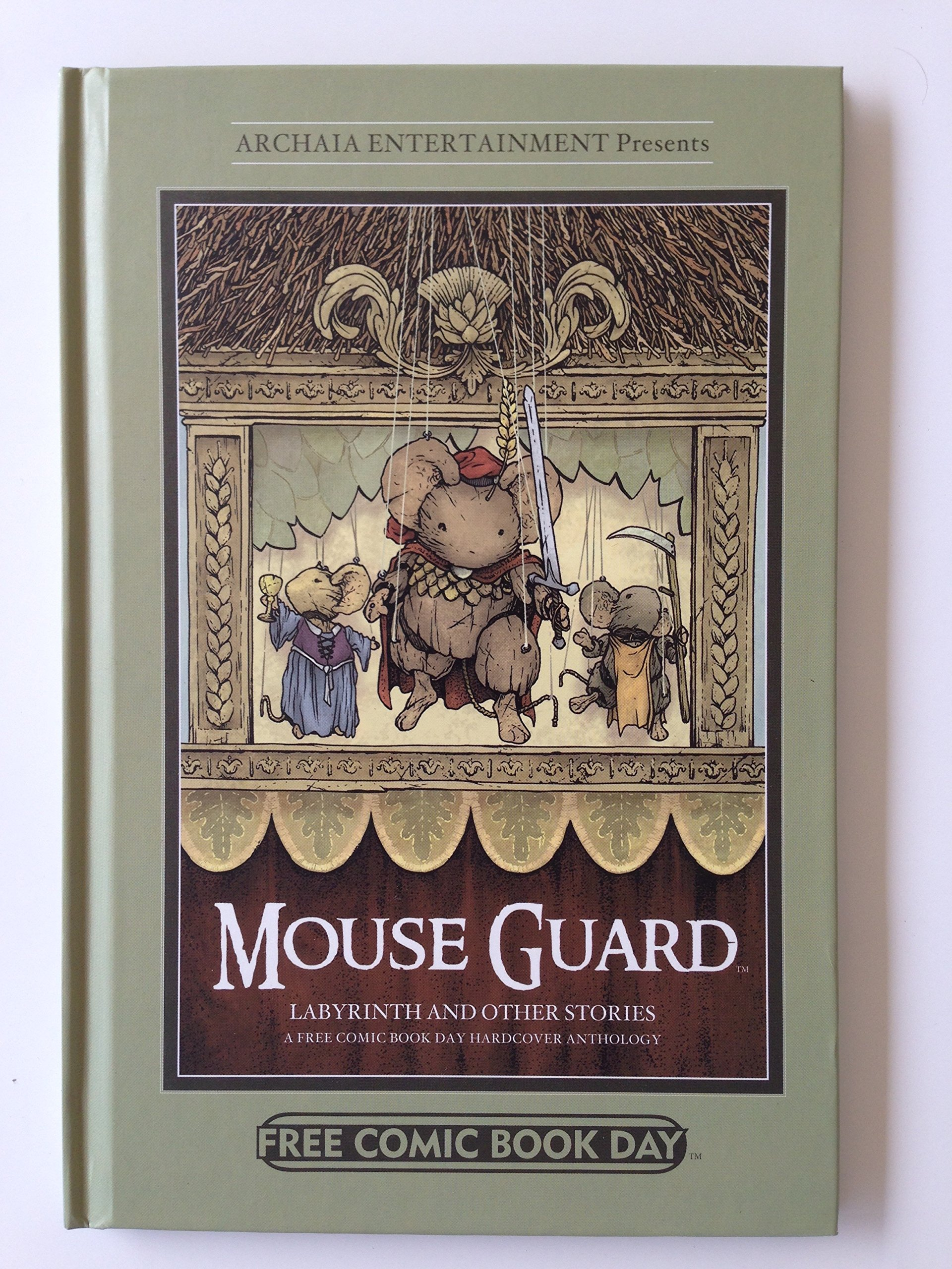 Read Online Mouse Guard Labyrinth and other Stories PDF