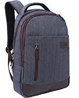 16 Inch Professional Business Laptop Work & Travel Backpack, Gray