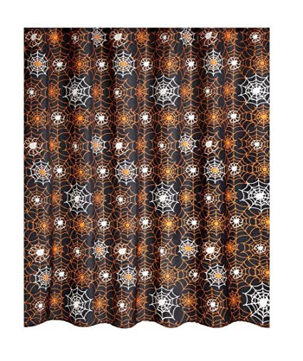 Amazon Famous Home Fashions Glow In The Dark Halloween Shower