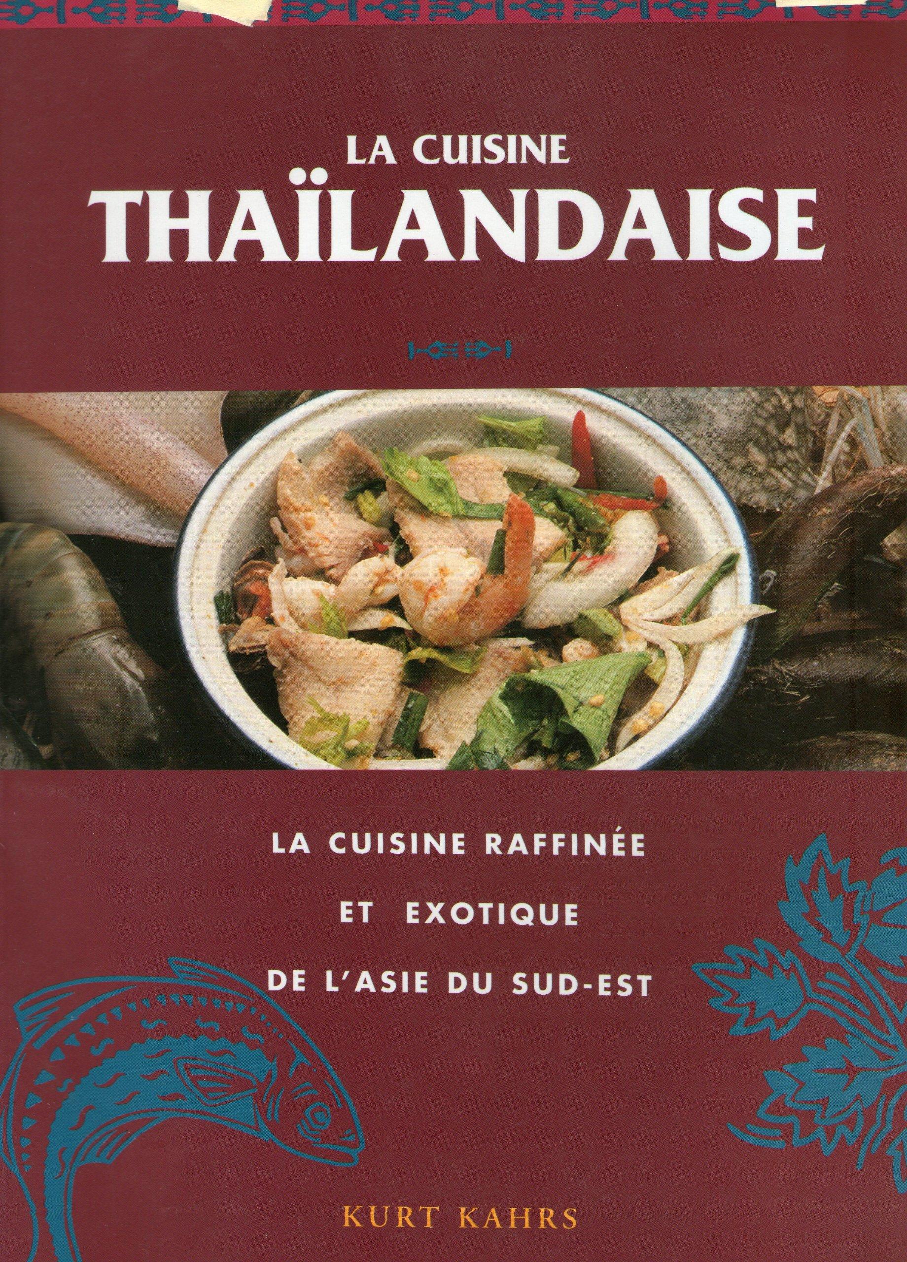 Couverture de La cuisine thailandaise
