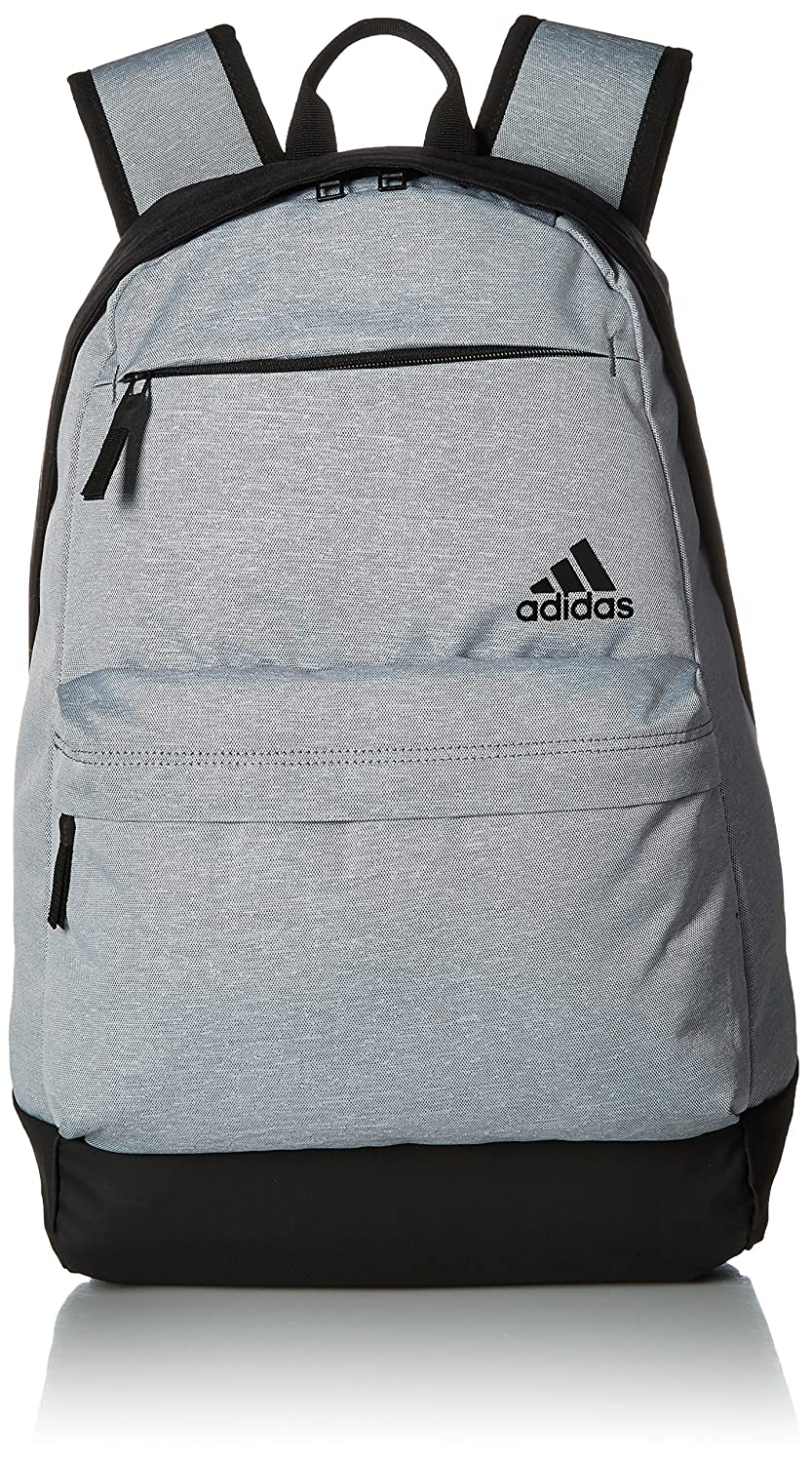 1a9739a4aec Amazon.com  adidas Daybreak II Backpack, Grey Heather Black, One Size   Sports   Outdoors