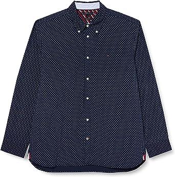 Tommy Hilfiger Flex Diamond Dot Print Shirt Camisa para Hombre