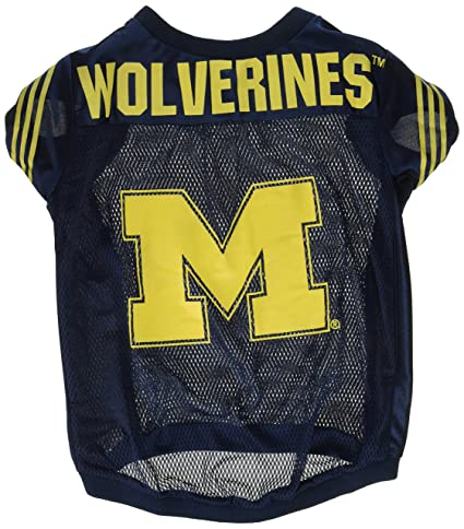 Amazon.com   NCAA Michigan Wolverines Football Dog Jersey 30e43ee40
