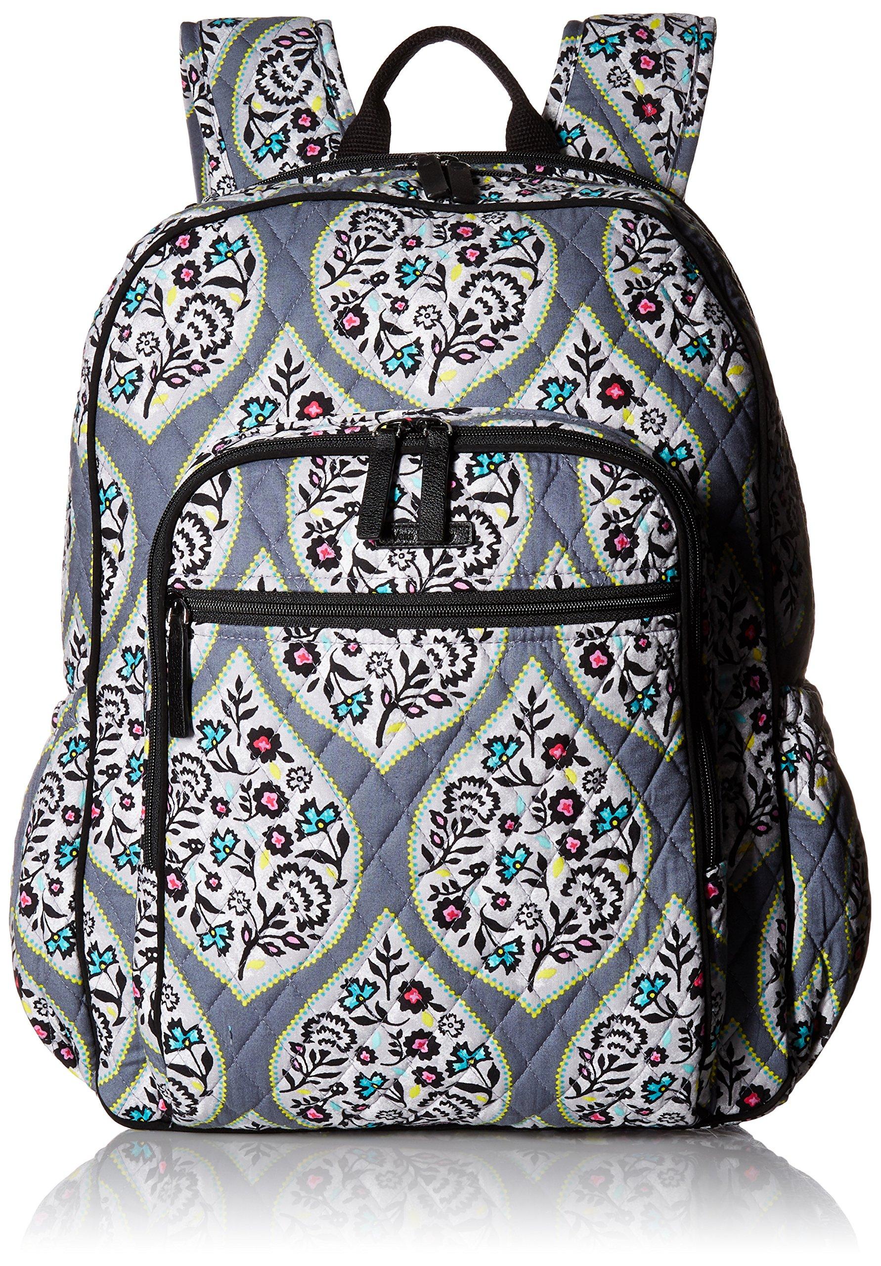 Vera Bradley Women's Campus Tech Backpack-Signature, Heritage Leaf