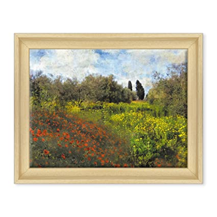QUADRO SU TELA CANVAS INTELAIATO - CON CORNICE - CLAUDE MONET ...