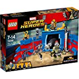 LEGO Marvel Super Heroes - Thor contre Hulk : le combat dans l'arène - 76088 - Jeu de Construction