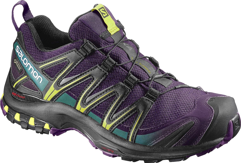 [サロモン] トレッキングシューズ XA PRO 3D ゴアテックス レディース 防水 登山靴 B01N4PL1EB 9.5 B(M) US Acai/Black/Dynasty Green