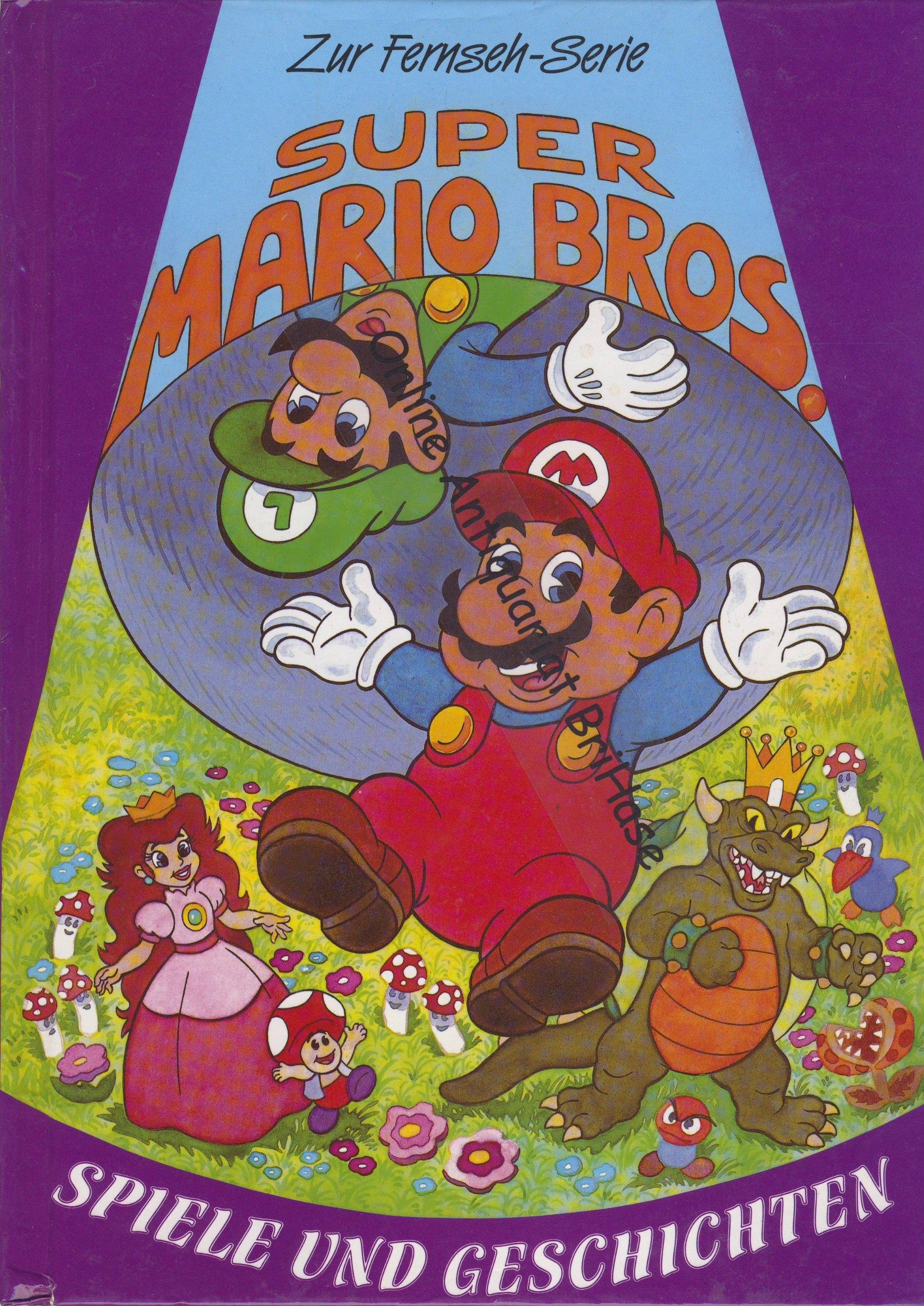 Nintendo-Super Mario Bros: Spiele und Geschichten: Amazon.de: Bücher