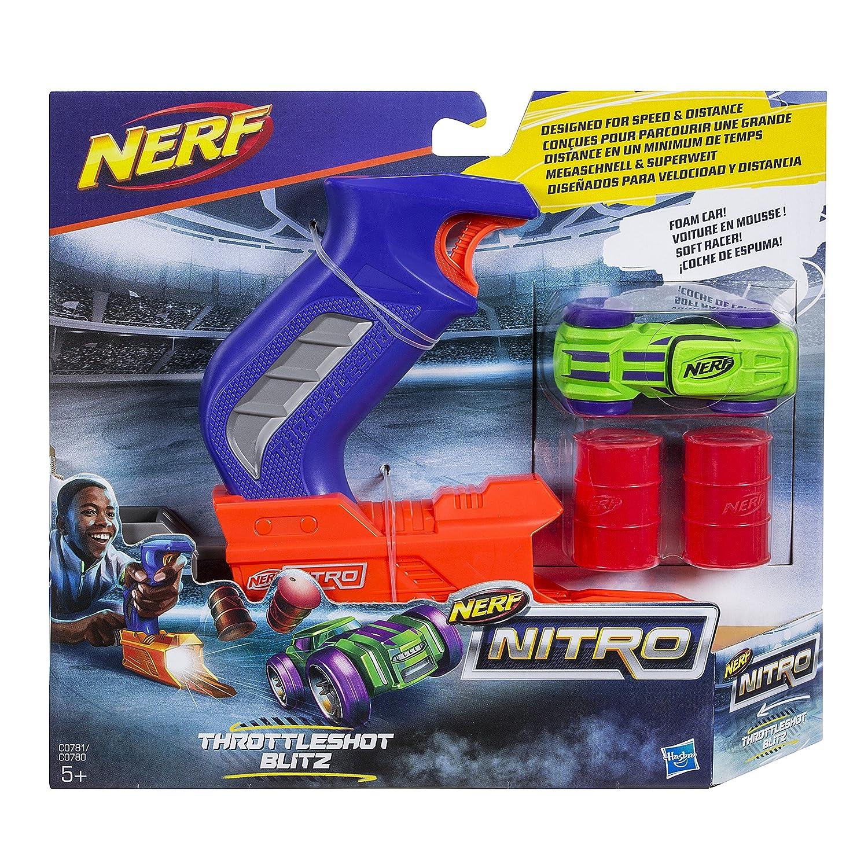 Nerf C0781EL2 Nitro Throttle Shot Blitz Die-Cast Toy