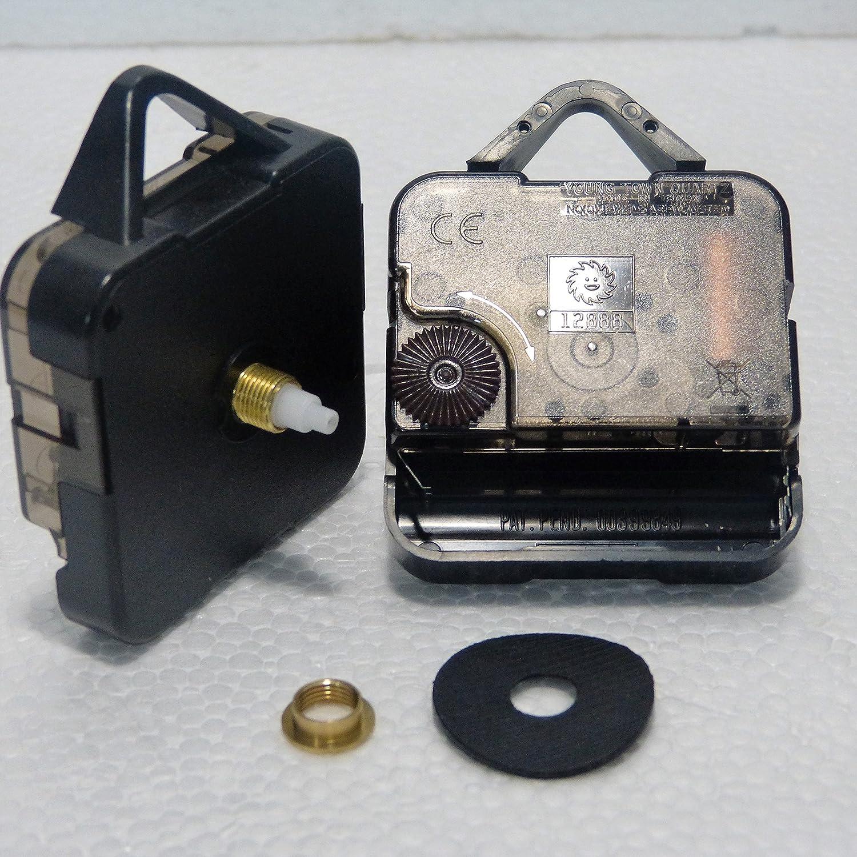 New sostituzione ticchettio orologio al quarzo Young Town 12888movimento meccanismo motore–DIY–Raccordi–corta (14.5mm–Lunghezza totale del mandrino)