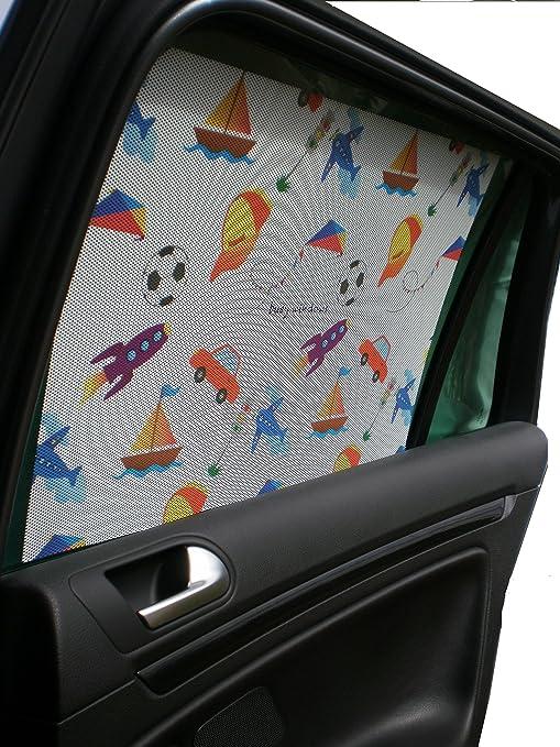 Busywindows baby car window sun shade sticker boy 1 sun shade easy installation