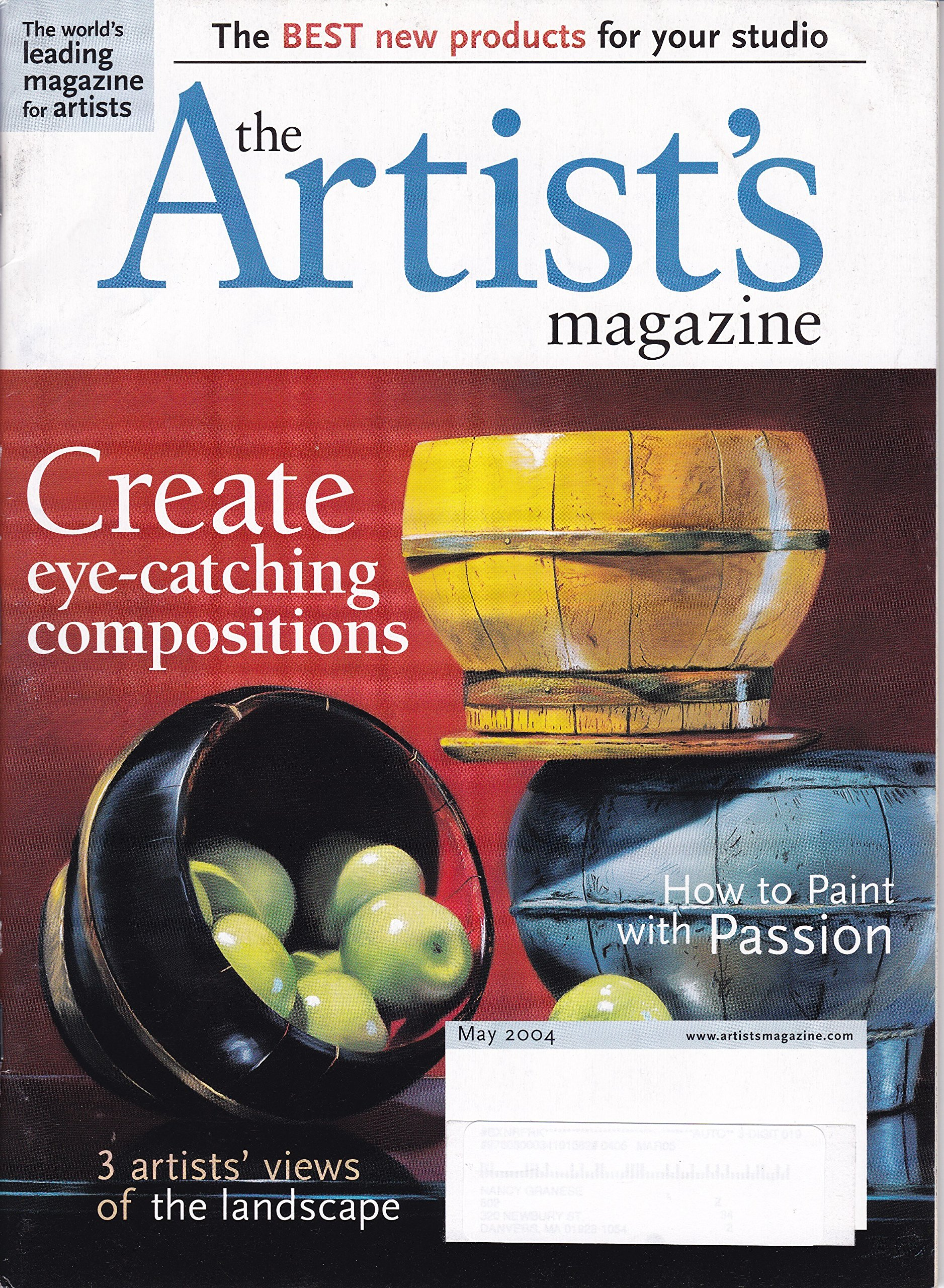 The Artist's Magazine (May 2004) pdf