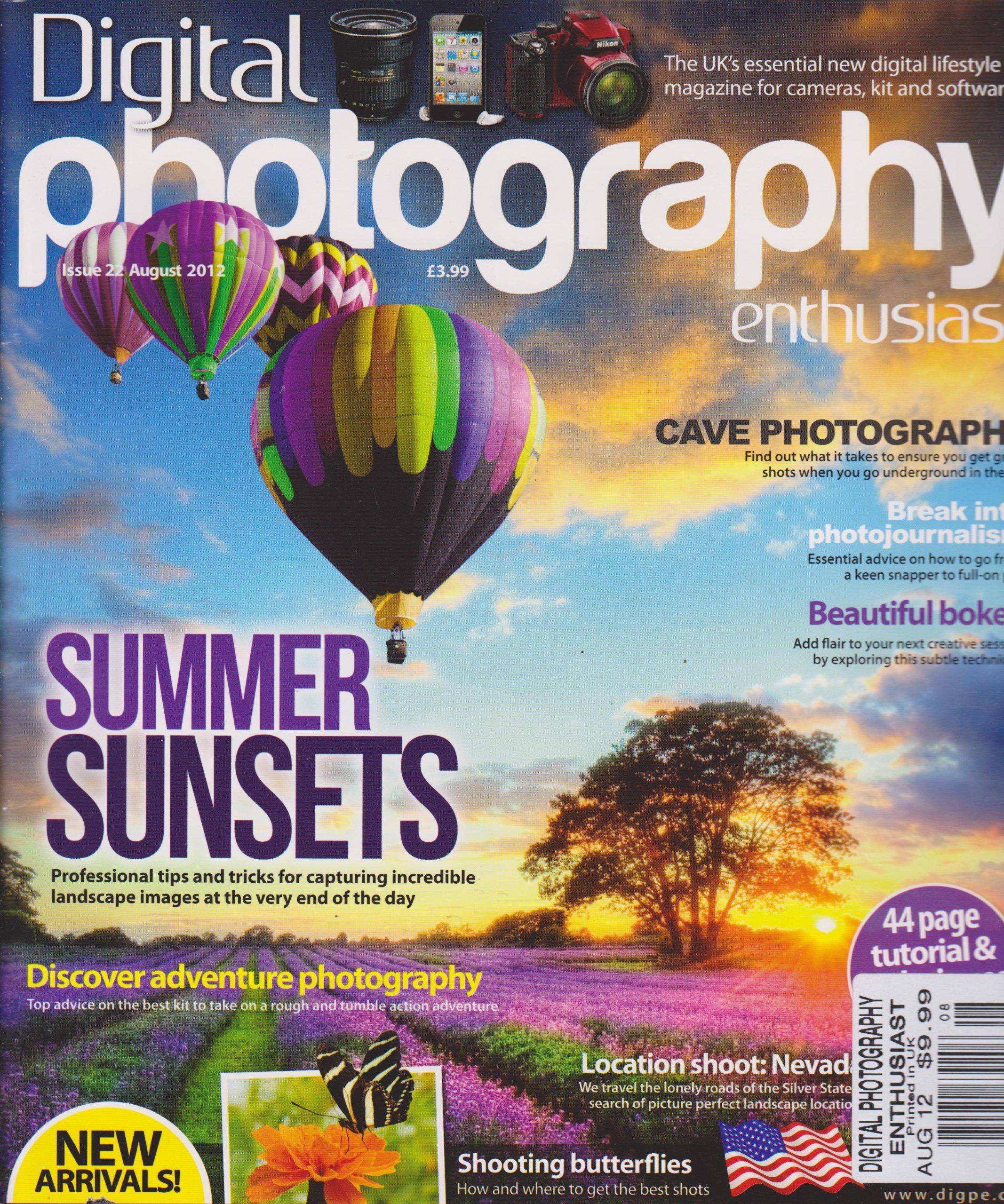 Digital Photography Enthusiast (August 2012) ebook